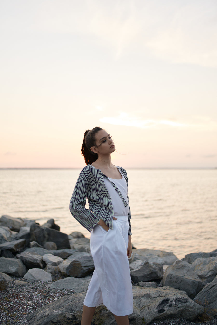 Cycladic Essence – Cardigan