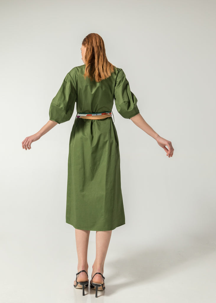 Heritage Green Dress