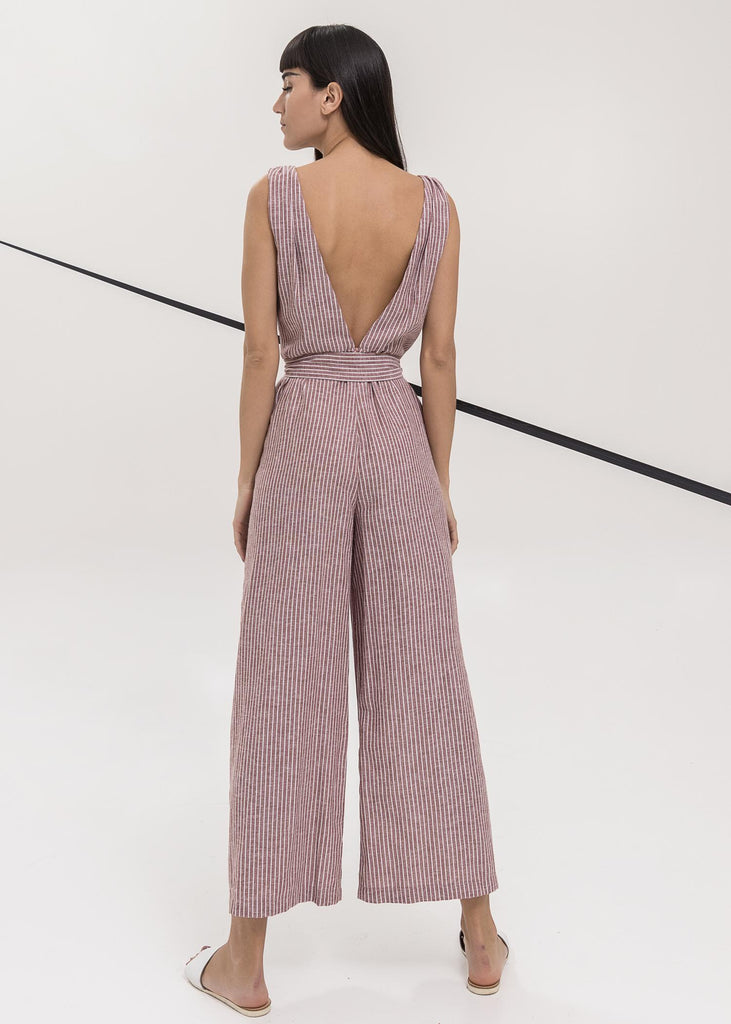 Reflect Jumpsuit Burnt Orange
