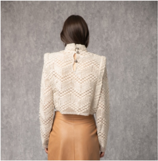 Peggy beige sweater