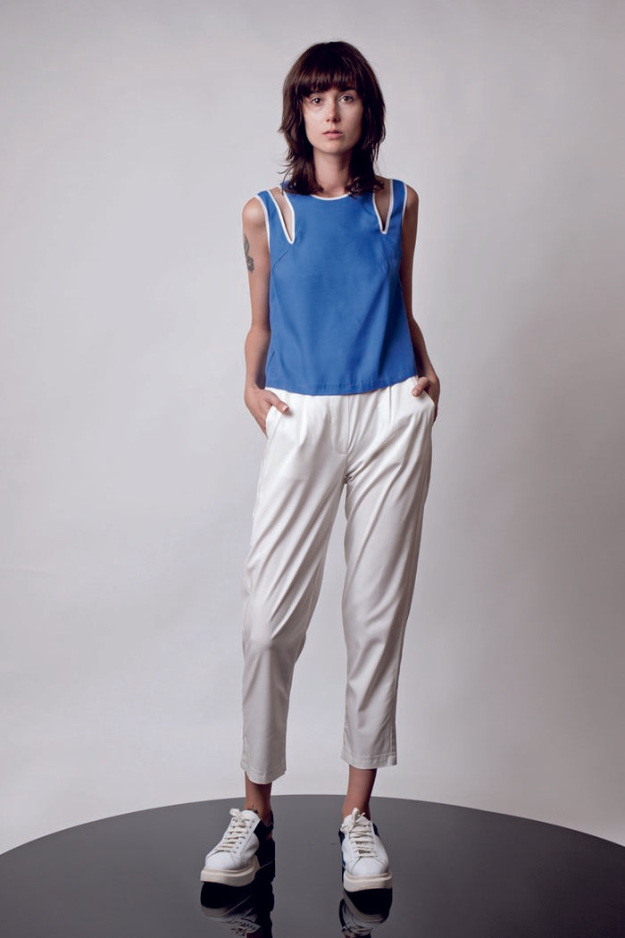 Slim Fit Crop Pants