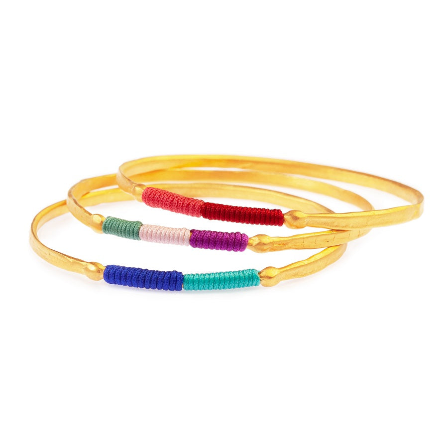 Chromata Bangle Gold - 3 colors