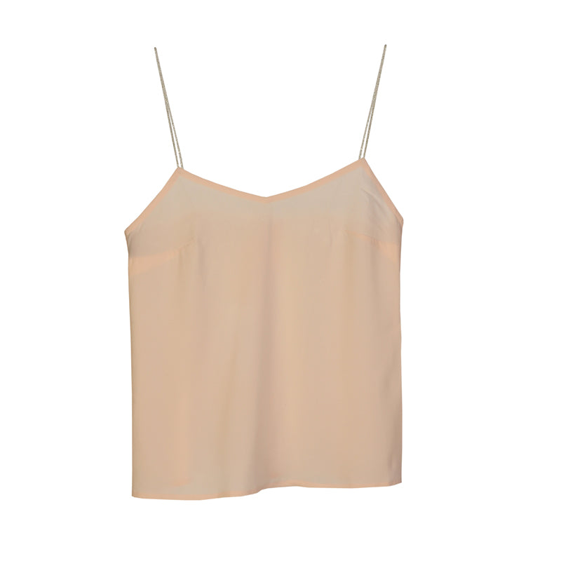 Camisole top with open back