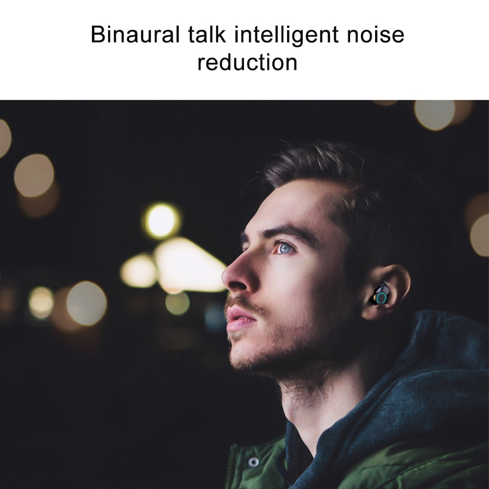 earbuds intelligent talk noise reduction