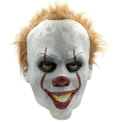 Latex Halloween Scary Clown Mask