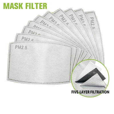 Lot Of Reusable PM2.5 Filters for Face masks