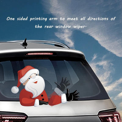 Santa Claus Windshield Decals For Christmas
