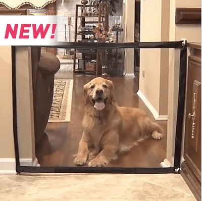 Portable Folding Dog Door For Pet Safety