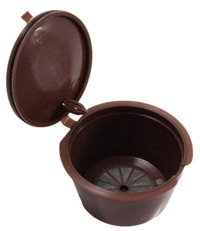 3Pcs Reusable Coffee Capsule Cup Filter Holder Compatible With Nescafe