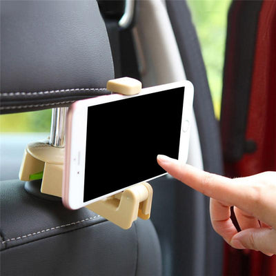 Car Back Seat Phone and Bags Organizer