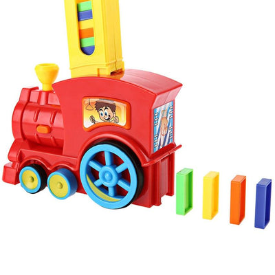 Educational Toy Train With Light Sound