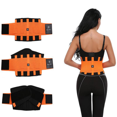 Sweat Waist Trimmer Belt Fitness Corset Slimming Shapewear