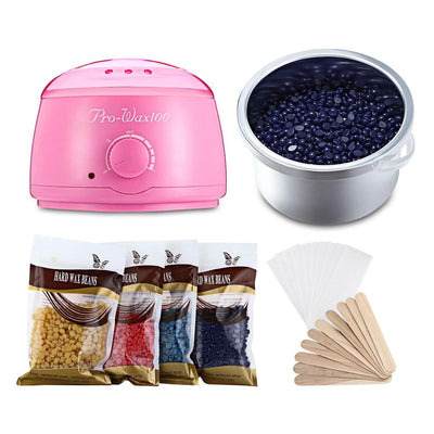 Wax Warmer Kit For Hair Removal With Temperature Control