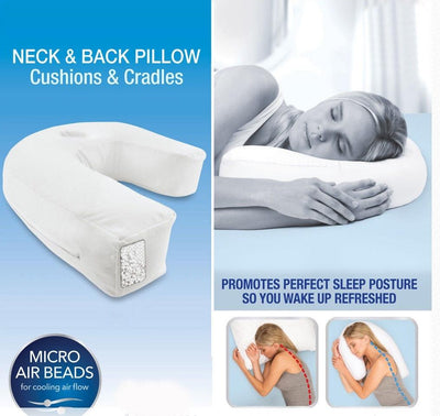 U Shape Pillow For Neck Pain Side Sleeper