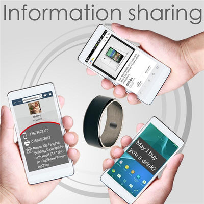 Smart NFC Multifunctional Ring For Android And Windows Phones