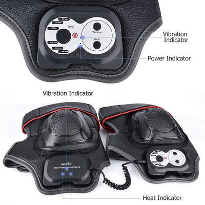 Magnetic Vibration Heating knee Massager For Pain Relief
