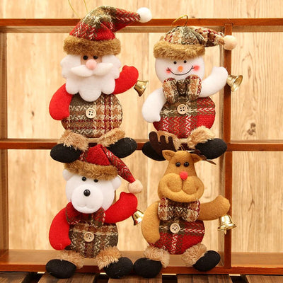 Christmas Tree Ornaments-Hanging Dolls