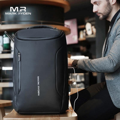 Anti-Thief USB Charging Minimalist Travel Backpack for Men