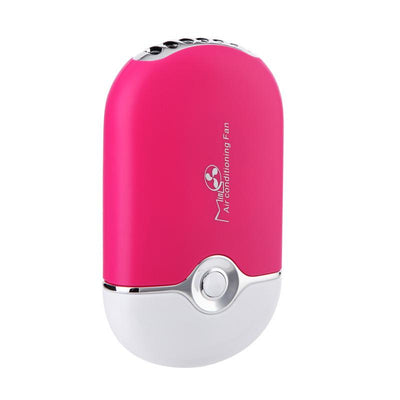 Mini Portable Hand-Held Desk Air Conditioner Fan