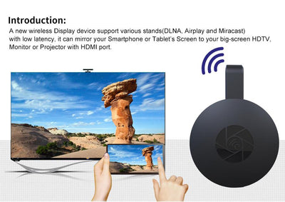 Android Media Player TV Stick WiFi Display Receiver Dongle