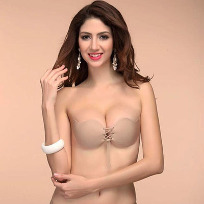 Sexy Invisible Backless Strapless Adhesive Push-Up Bra