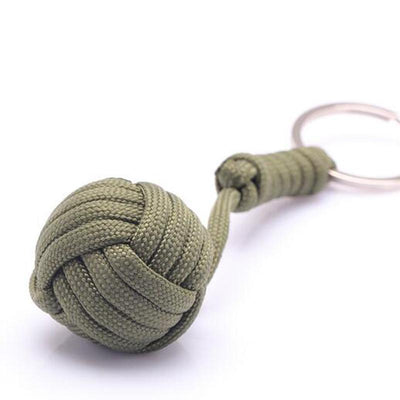 Self-Defense Keychain With Steel Ball