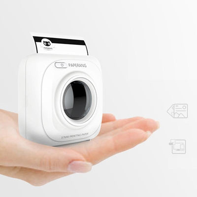 Battery-Operated Portable Bluetooth Photo Printer