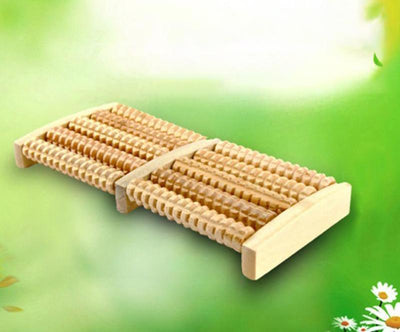 Wooden Relaxing Foot Massage