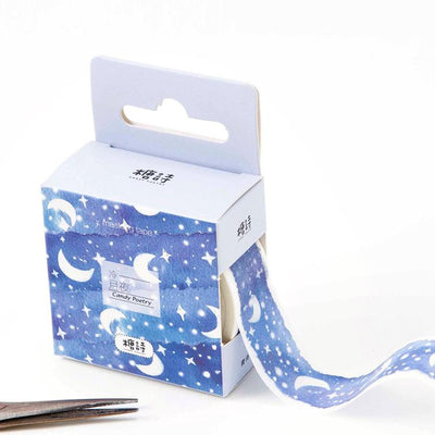 Star And Moon Scrapbooking Tape