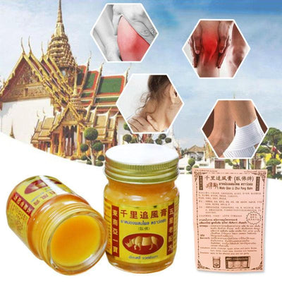 Thai Herbal Medical Topical Ointment