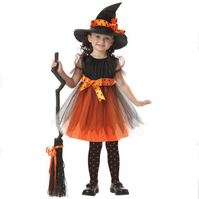 Cute Witch Halloween Costumes for Kids