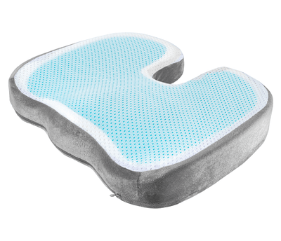 Multipurpose Orthopedic Cooling Gel Seat Coccyx Cushion