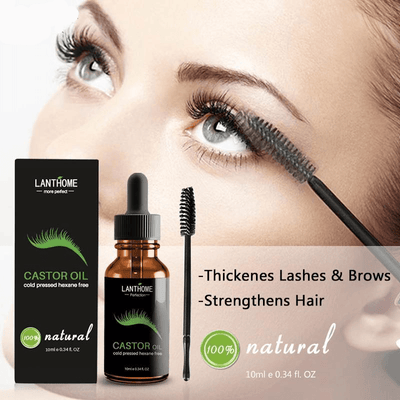 Castor Oil For Eyebrow & Eyelash Growth