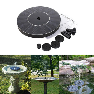 Floating Solar Fountain Pump For Garden, Pool, Patio