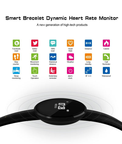 Bluetooth Smartwatch With Heart Rate Monitor