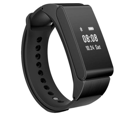 Fitness Tracker Wristband With Bluetooth Headset