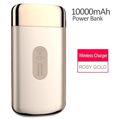 10000mAh Power Bank With Fast Wireless Charging