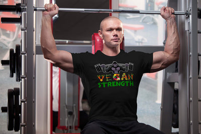 Vegan Strength Unisex T-Shirt