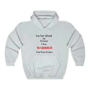 Unisex MARRIED  Hooded Sweatshirt