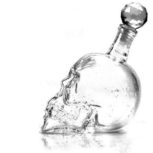 Crystal Head Vodka Bottle Skull Head