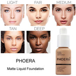 Oil Control Concealer Liquid Foundation Makeup