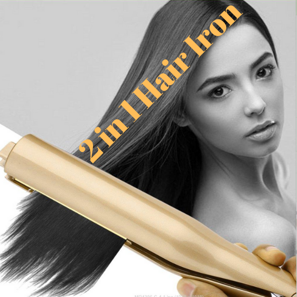 Your Professional 2 in 1 Magic Hair Iron