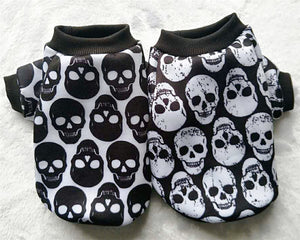Autumn Winter Skull Pet Dog Clothes
