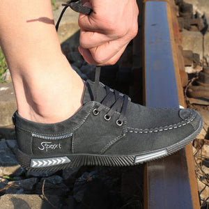 Breathable Canvas Men Shoes