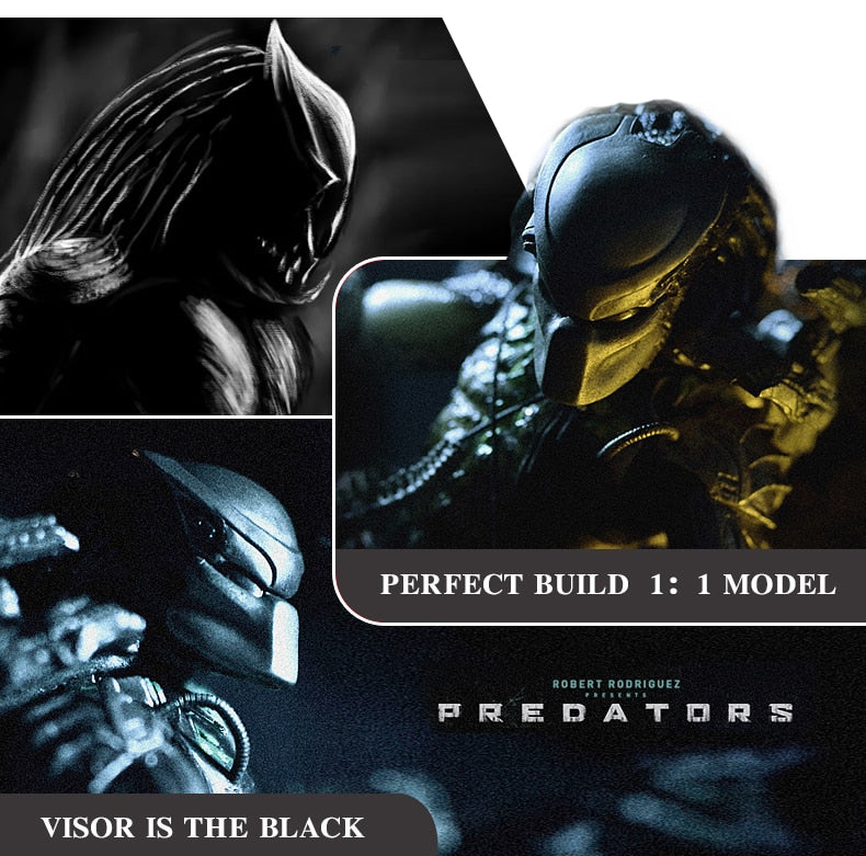 Full Face Predator Carbon Fiber Motorcycle Helmet