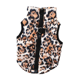 Leopard Skull Print Small Dog Clothes