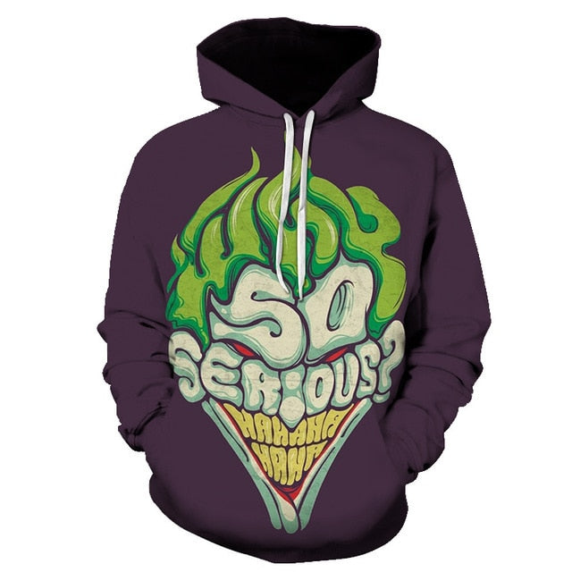 Unisex Seatshirts Skull Melted 3D Printed Tattoos Hoody