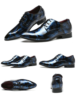 Designer  Leather Luxury Classic Dress Shoes