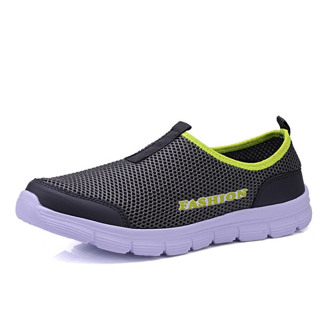 Lightweight Breathable Slip-on Air Mesh Men Shoes