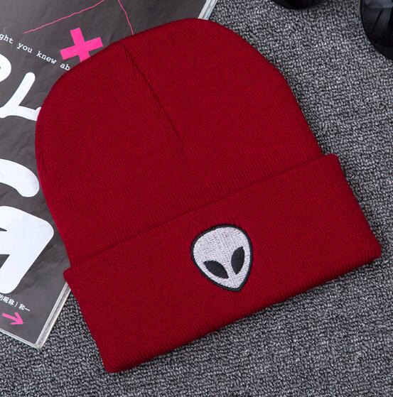 Super Cool Skull Knitted Bone Pattern Hat